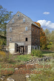 Rexrode Gristmill at Blue Grass Virginia a Side View