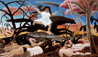 War or the Ride of Discord by Henri Rosseau