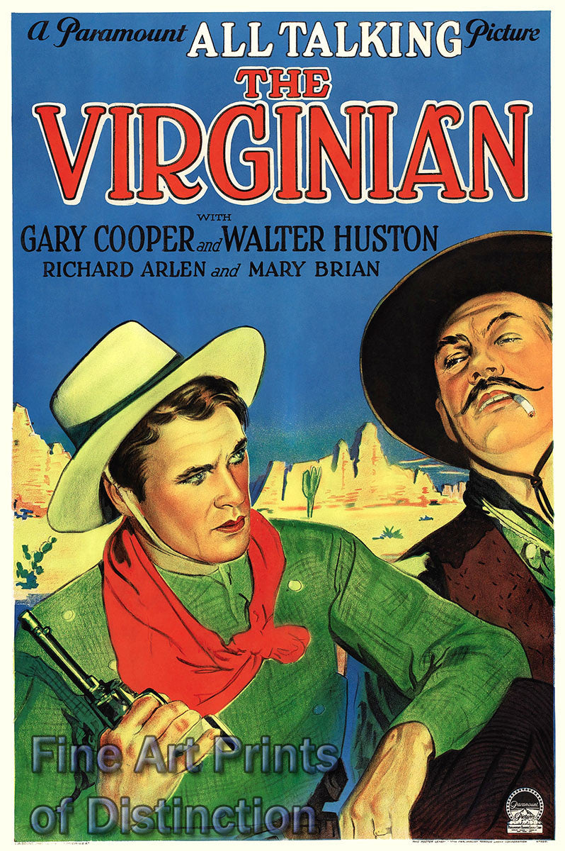 The Virginian Movie Poster