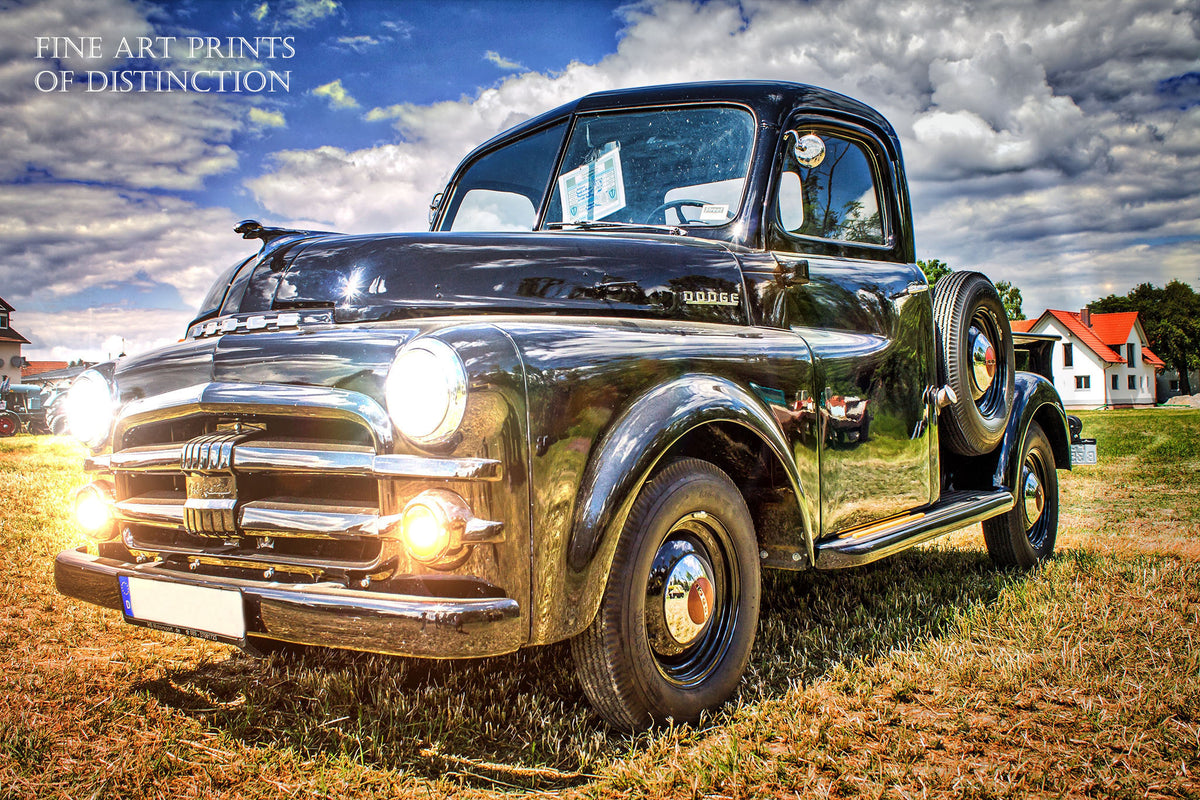 1952 Dodge Antique Pickup Premium Print