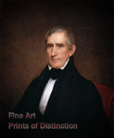 William Henry Harrison Portrait by Albert Gallatin Hoit
