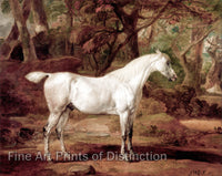 A Grey Arabian Stallion the Property of Sir Watkin Williams Wynn by James Ward