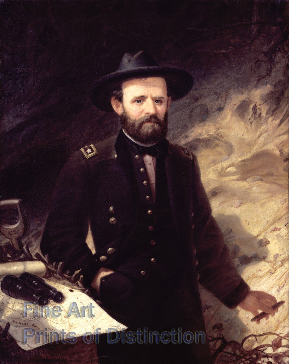 General Ulysses S. Grant by Ole Peter Hansen Balling