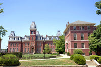 Chitwood and Woodburn Halls at WVU