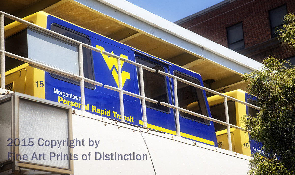 PRT Bus at West Virginia University