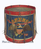 US Infantry Civil War Drum by Wayne White