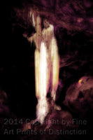 Pluto's Ghost in Luray Caverns Art Print
