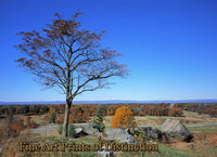 A View from Little Roundtop at Gettysburg Pennsylvania