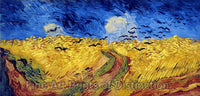 Wheat Field with Crows by Vincent Van Gogh Art Print