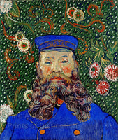 Van Gogh, Vincent - Portrait of Joseph Roulin Fine Art Print