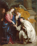 The Vision of the Blessed Hermann Joseph by Anthony Van Dyck