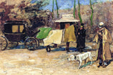 Zwart de Willem - Waiting Carriage in the Park
