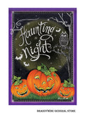 A Haunting Night Decorative Halloween Flag