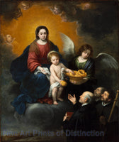 The Infant Jesus Distributing Bread to the Pilgrims by Bartolome Esteban