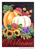 Autumn Abundance Decorative Flag