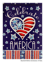 Celebrate America Decorative Flag 47554