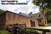 Public Gaol at Williamsburg Virginia