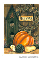 Primitive Harvest Decorative Fall Flag