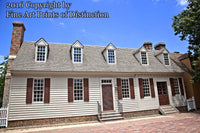 Alexander Craig House in Williamsburg Virginia Art Print