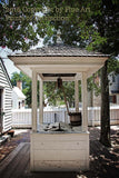 Well House in Downtown Williamsburg Virginia Art Print