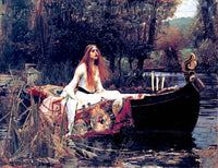 Waterhouse John - The Lady of Shalott
