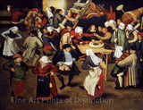 Wedding Dance in the Barn by Pieter Brueghel the Younger