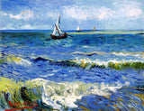 Van Gogh, Vincent - Seascape Near Las Saintes