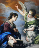 The Annunciation by Bernardo Strozzi