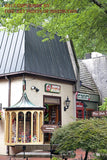 The Pepper Palace and Candle Cottage in Downtown Gatlinburg Art Print