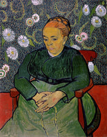 Van Gogh, Vincent - Portrait of Madame Roulin Fine Art Print