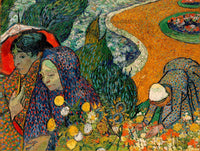 Van Gogh, Vincent - The Ladies of Arles Memory of the Garden at Etten