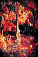 Colorful Room in Luray Caverns Art Print