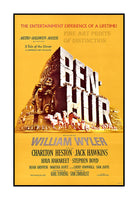 1959 Ben Hur movie poster Art Print