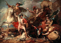 Death of the Stag by Benjamin West Art Print
