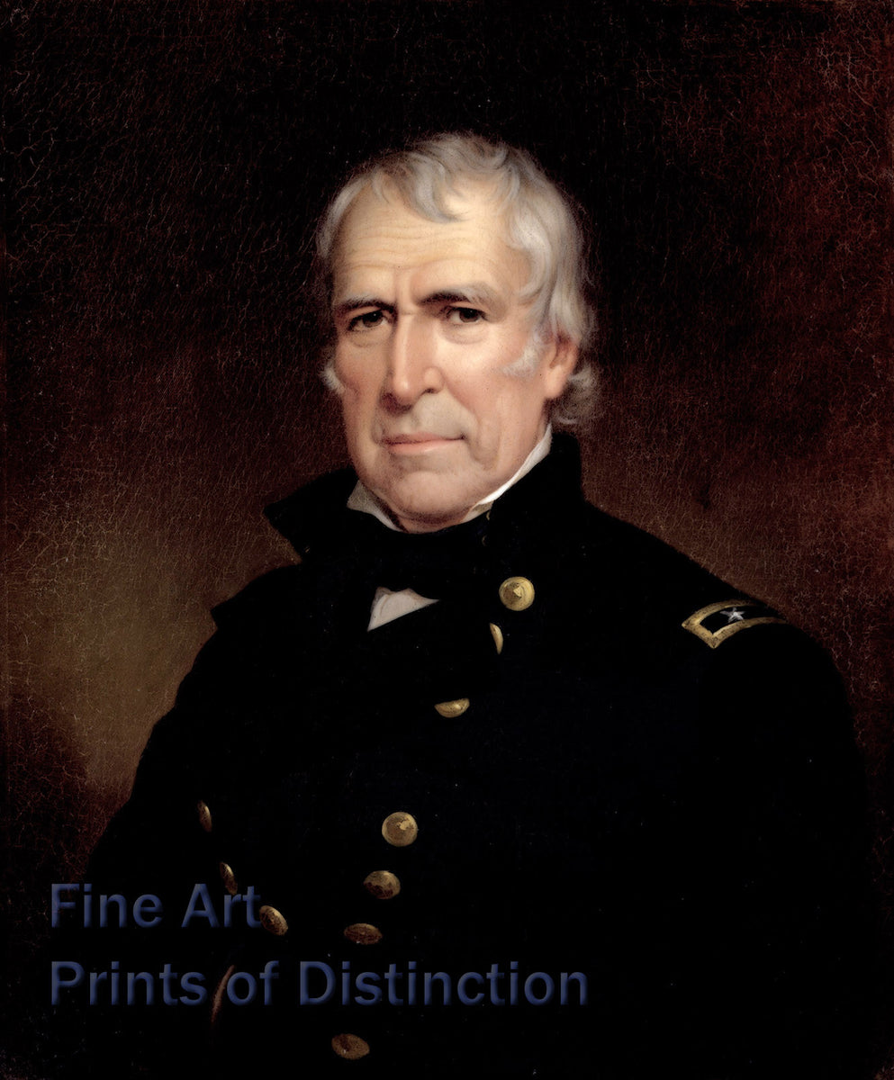 Zachary Taylor Portrait by James Reid Lambdin
