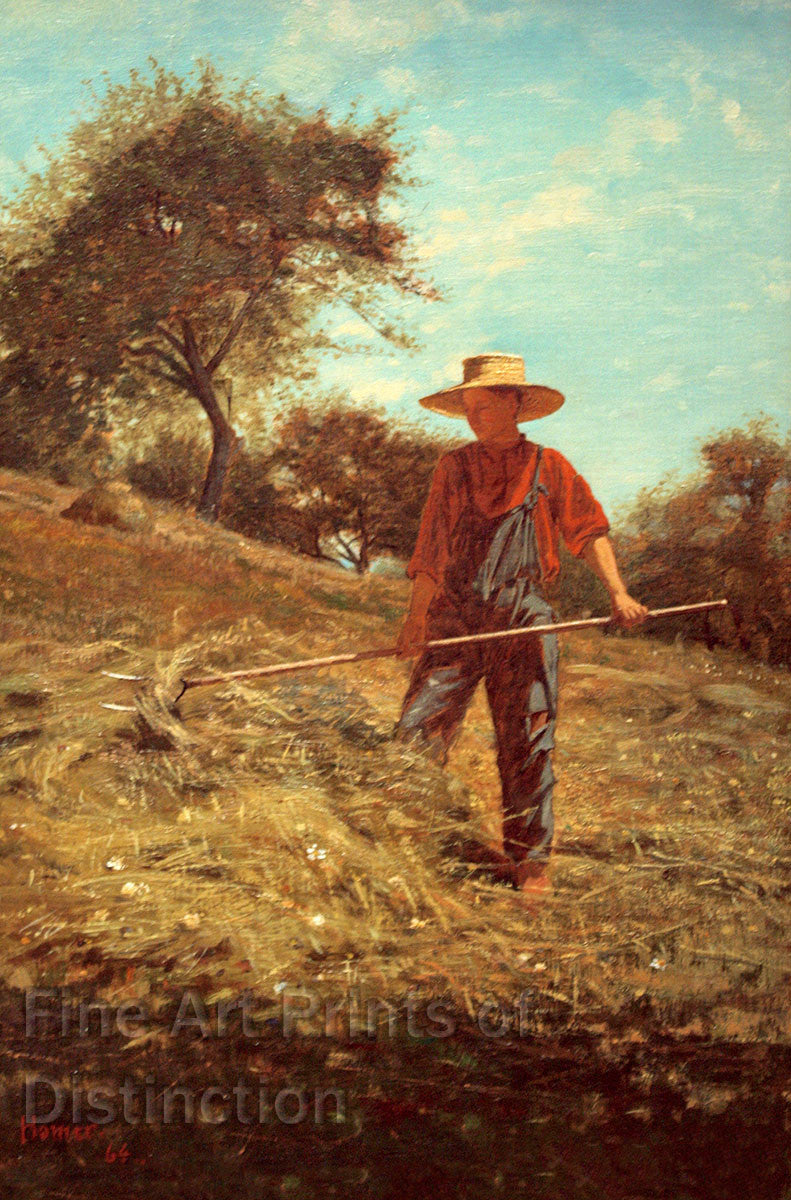 Haymaking by Winslow Homer