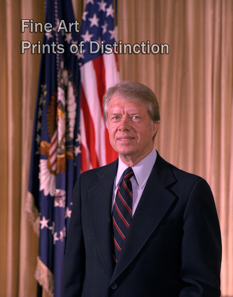 Jimmy Carter White House Photograph