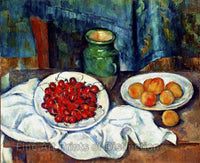 Cezanne Paul - Still Life With Cherries and Peaches