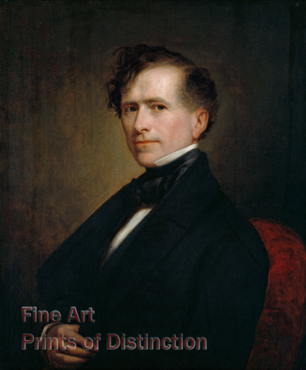 President Franklin Pierce by George Peter Alexander Healy