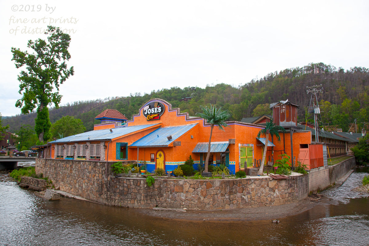 Jose's Cantina at Gatlinburg, Tennessee art print