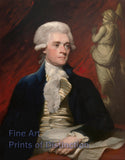 Thomas Jefferson Portrait by Mather Brown