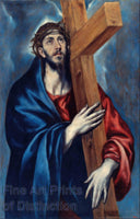 Christ Carrying the Cross by El Greco Religious Art Print