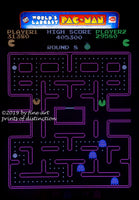 World's Largest Pac-Man Game premium art print