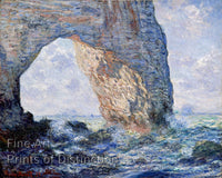 Monet Claude - The Manneporte Fine Art Print