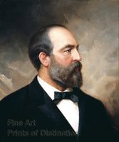 James A. Garfield Portrait by Old Peter Hansen Balling