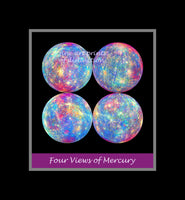 Mercury an image with Four Views premium poster