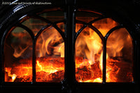 A premium print of A Warm Cozy Fire in the Jotul Wood Stove