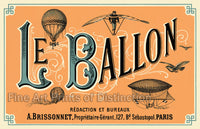 Le Ballon French Advertising Poster