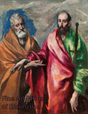 The Apostles Peter and Paul by El Greco