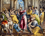 Purification of the Temple by El Greco